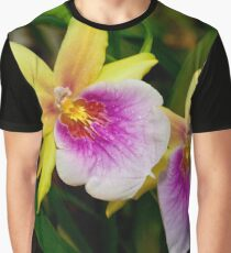 Gorgeous Miltonia Sunset Orchid Graphic T-Shirt