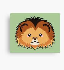 Lion - African Wildlife Canvas Print