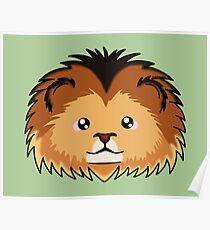 Lion - African Wildlife Poster