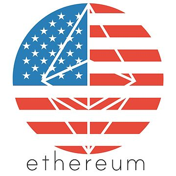 Ethereum USA flag by mikeblue7