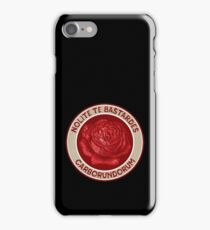 Nolite Te Bastardes Carborundorum iPhone Case/Skin