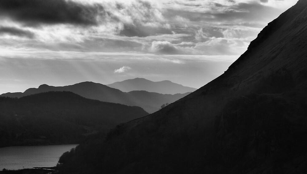 Misty Mountains 1 by Julian MacDonald
