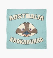 Kookaburra bird vintage design - Australian animal  Scarf