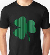 St. Patrick's day: Shamrock Barcode T-Shirt