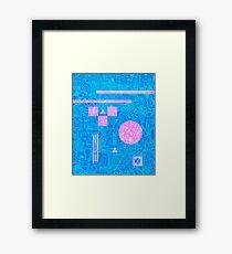 Futurism Framed Print