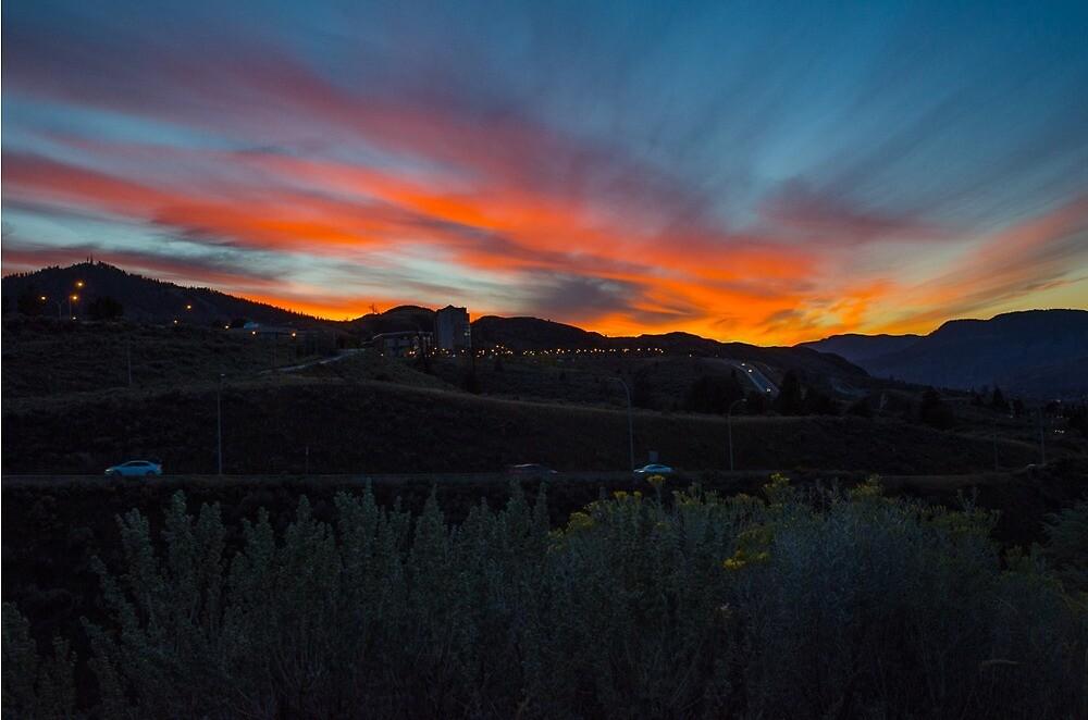 Kamloops Sunset by KamloopsCam