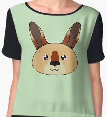 Kangaroo - Australian animal design Women's Chiffon Top