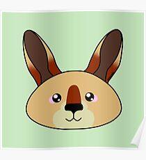 Kangaroo - Australian animal design Poster