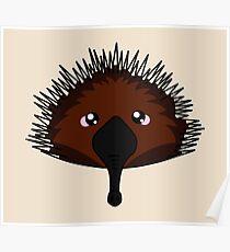 Echidna - Australian animal design Poster