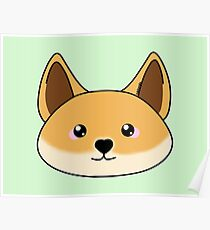 Cute dingo - Australian animal design Poster