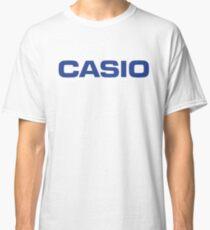 Retro Classic Blue Casio Logo  Classic T-Shirt