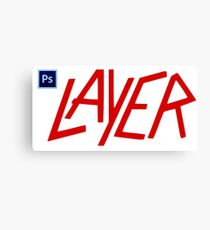 Photoshop LAYER Canvas Print