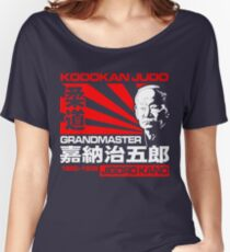 JAPAN GRANDMASTER JUDO JIGORO KANO Women's Relaxed Fit T-Shirt