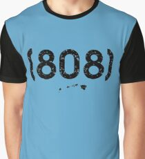 Area Code 808 Hawaii Graphic T-Shirt
