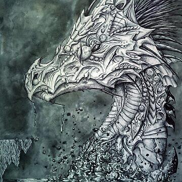 Metallic Ocean Dragon by fernigan