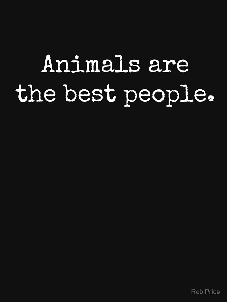 TiereAreTheBestPeople von wanungara