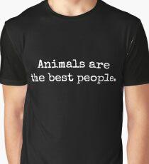 AnimalsAreTheBestPeople Graphic T-Shirt