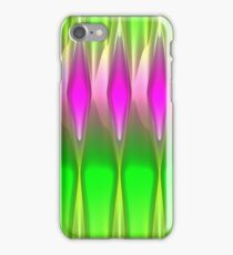 Glass In Spring 3D Background iPhone Case/Skin