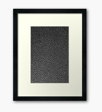 Car leather Framed Print