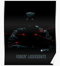 Fookin Laser sights Poster