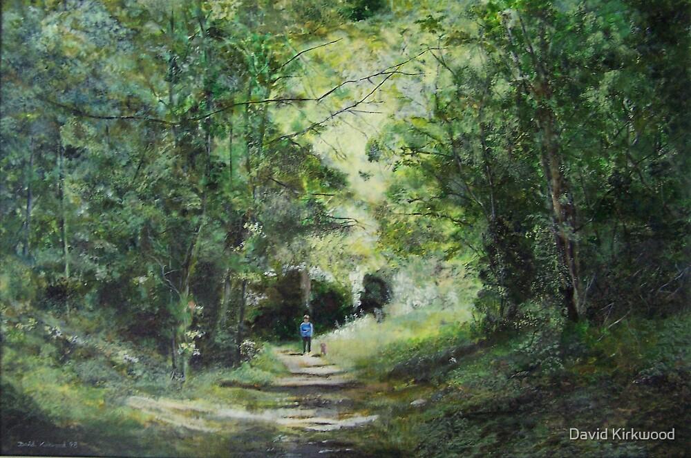 Cherry Garden Woods,Eastbourne, Sussex by David Kirkwood
