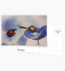 Very nice to meet you! Postcards