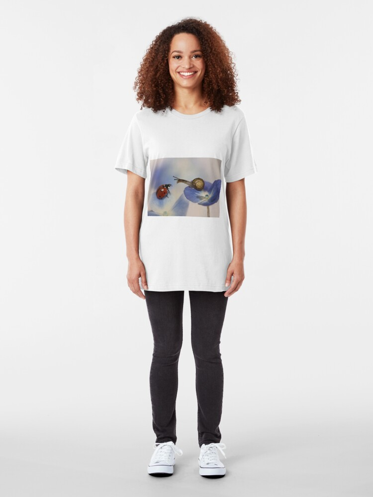 Alternate view of Very nice to meet you! Slim Fit T-Shirt