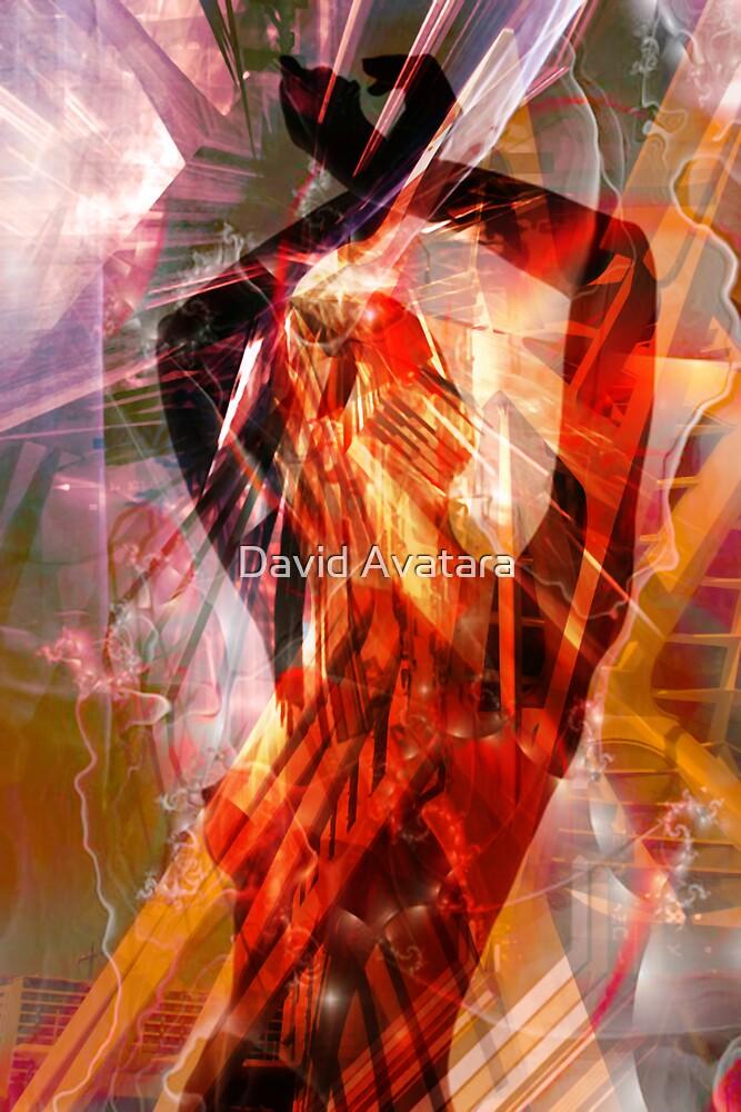 Fire Dancer by David Avatara