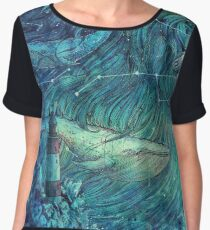 Moonlit Sea Women's Chiffon Top