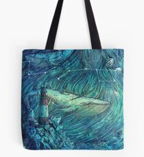 Moonlit Sea Tote Bag