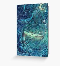 Moonlit Sea Greeting Card
