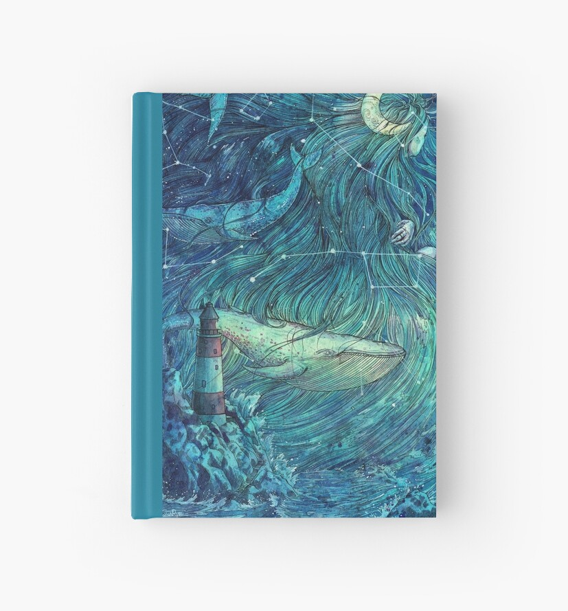 Moonlit Sea by juliacoalrye