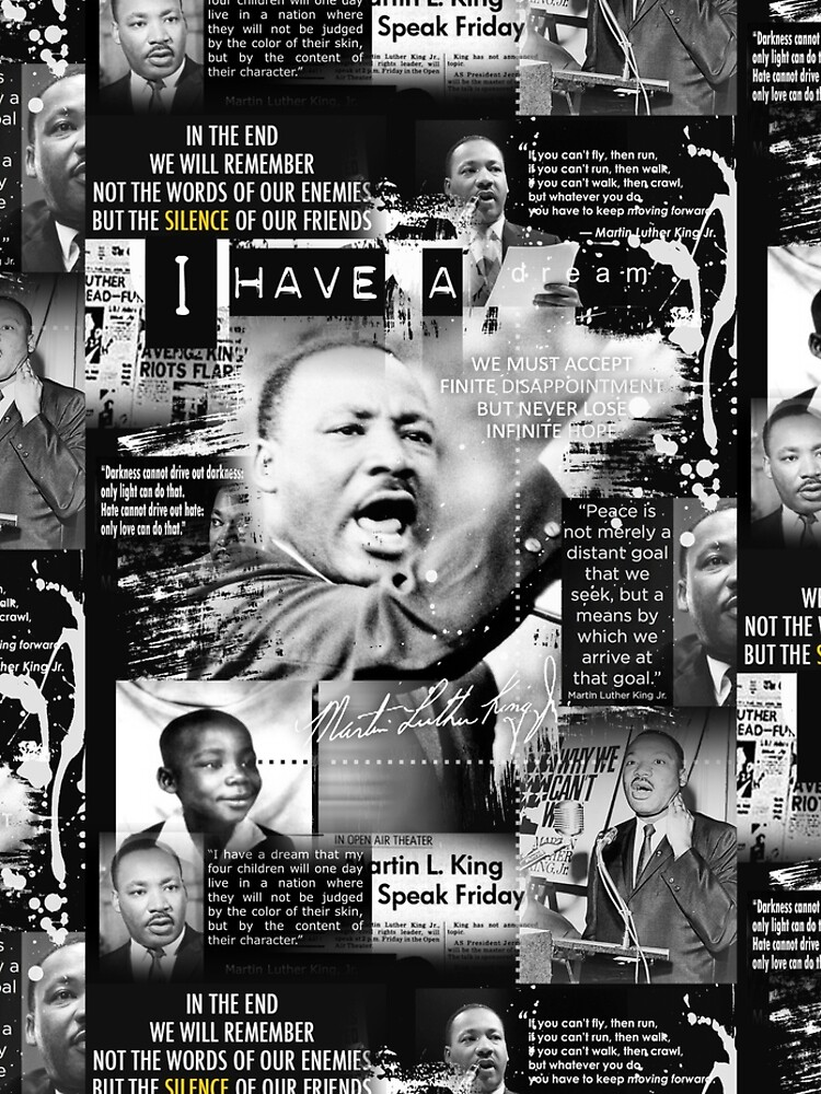 martin luther king jr by redboy