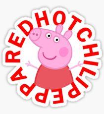 Red Hot Chili Peppa Sticker