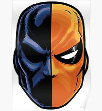 deathstroke - mask (more detail) Poster