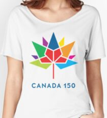 canada flower 150 Women's Relaxed Fit T-Shirt