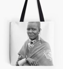 Lady Masaii Tote Bag