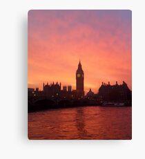 Big Ben - London, United Kingdom Canvas Print