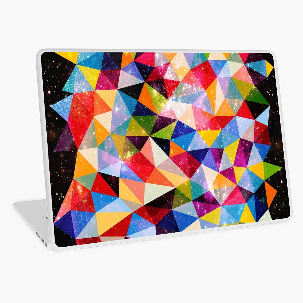 Space Shapes Laptop Skin