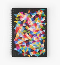 Space Shapes Spiral Notebook
