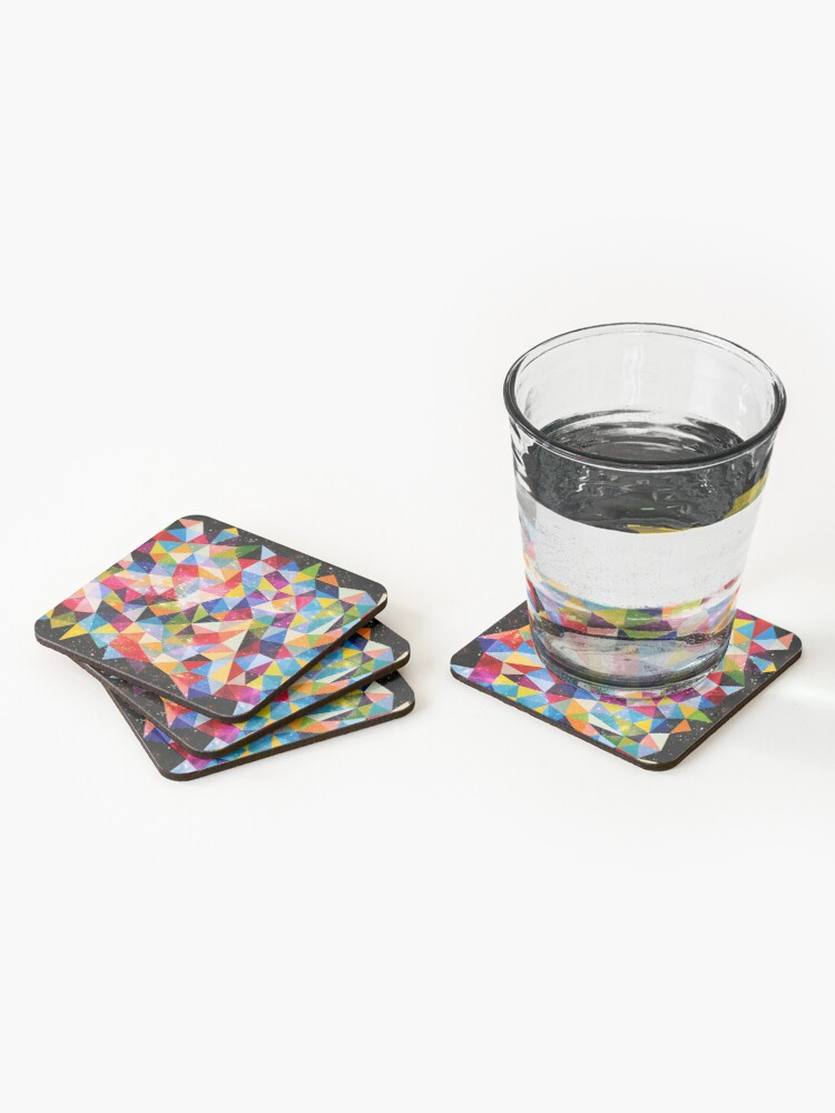 Alternate view of Space Shapes Coasters (Set of 4)