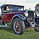 Dodge tourer in burgundy by Ferenghi