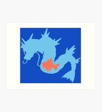 The Sea Dragon Art Print