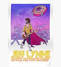 Jeff Lynne: Space Adventioneer Poster