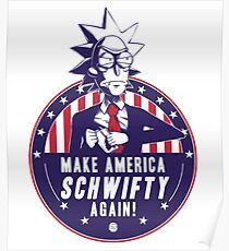 Rick President of US  Poster