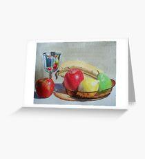 Goblet & Fruit Greeting Card