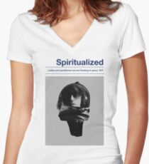 spiritualized 4 Women's Fitted V-Neck T-Shirt