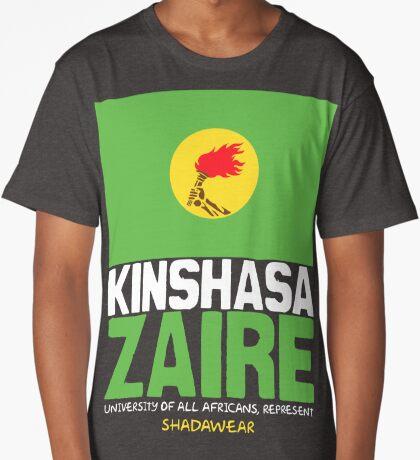 Kinshasa, Zaire, represent Long T-Shirt