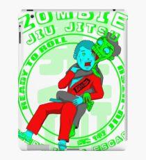 BJJ T Shirt Zombie Jiu Jitsu iPad Case/Skin