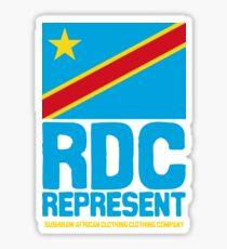 RDC represent Sticker
